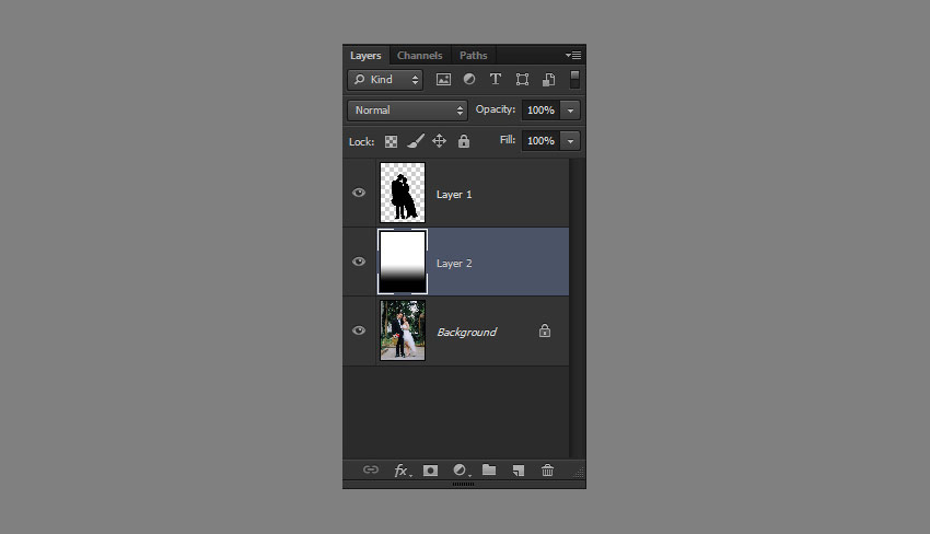 add gradient layer