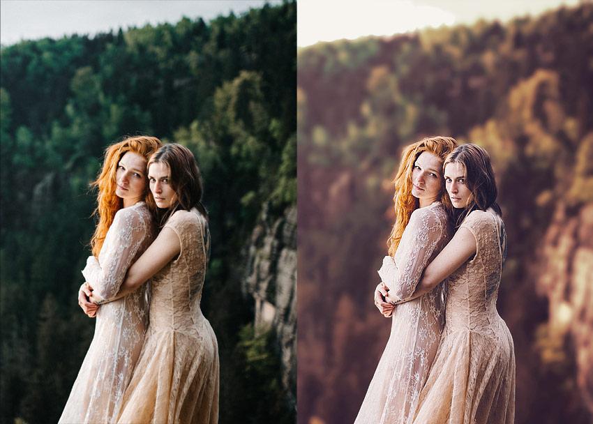 wedding photo filter
