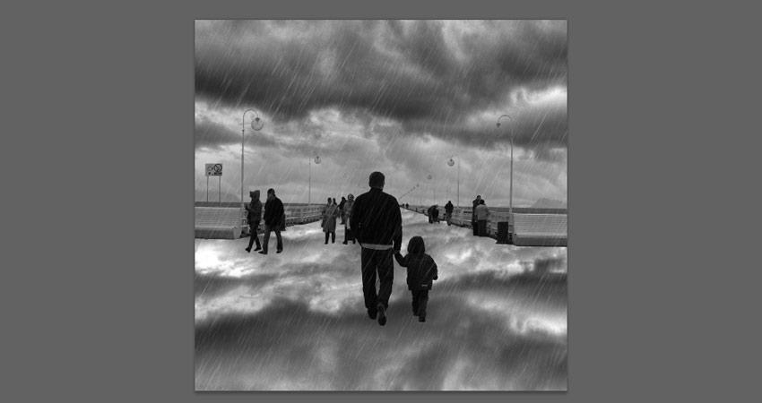 add reflection of sky