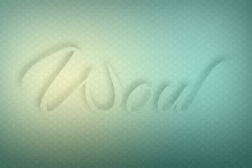 transparent text effect