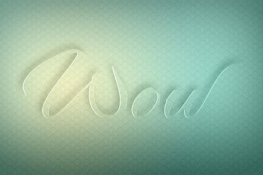 3d text effect