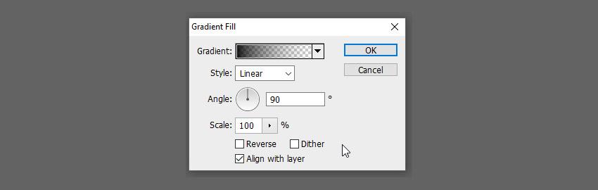 thay đổi cài đặt gradient