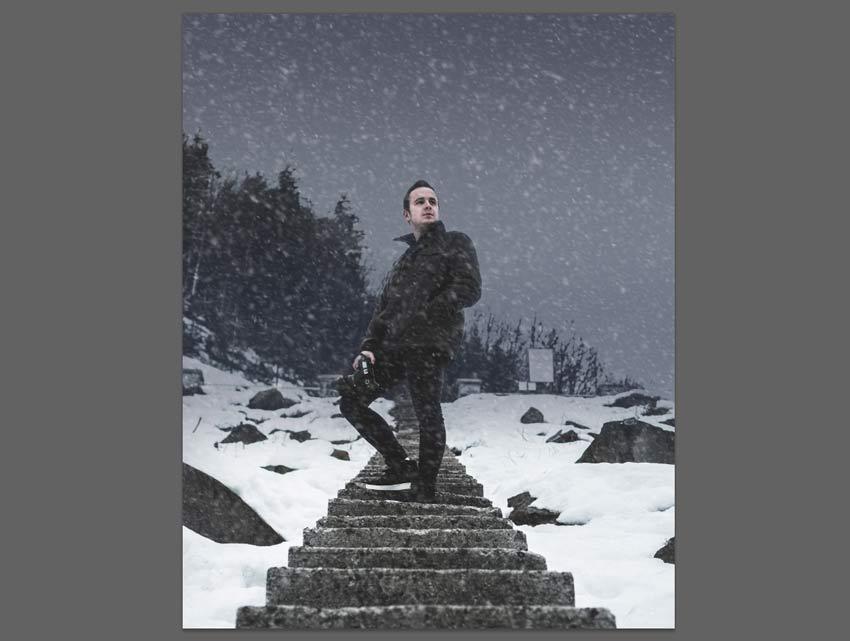 tuyết trong ảnh