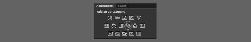 photo filter adjustment
