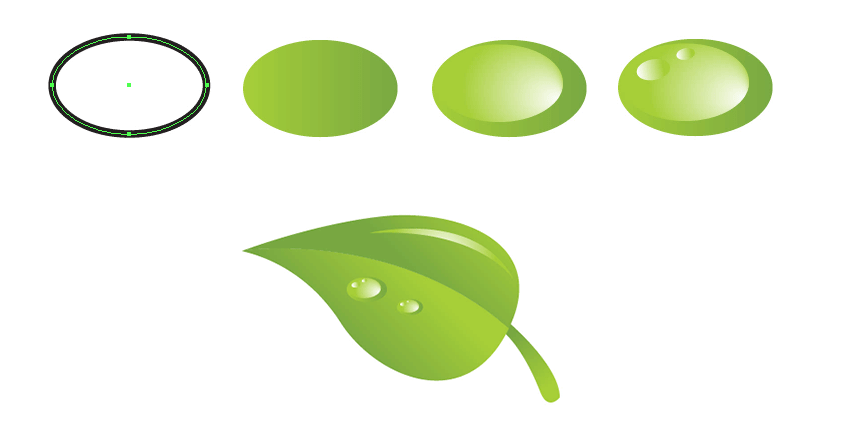 create vector waterdrop
