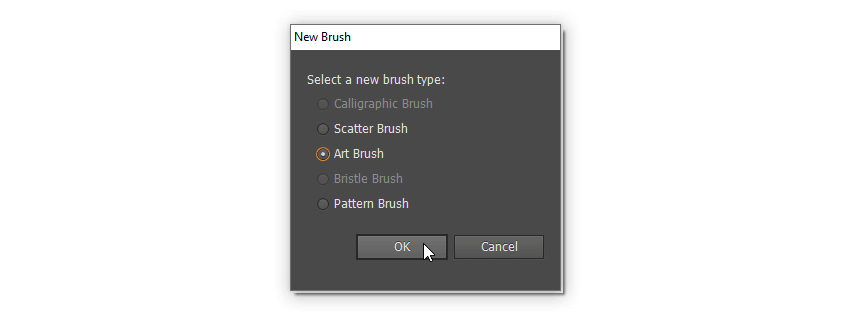new art brush