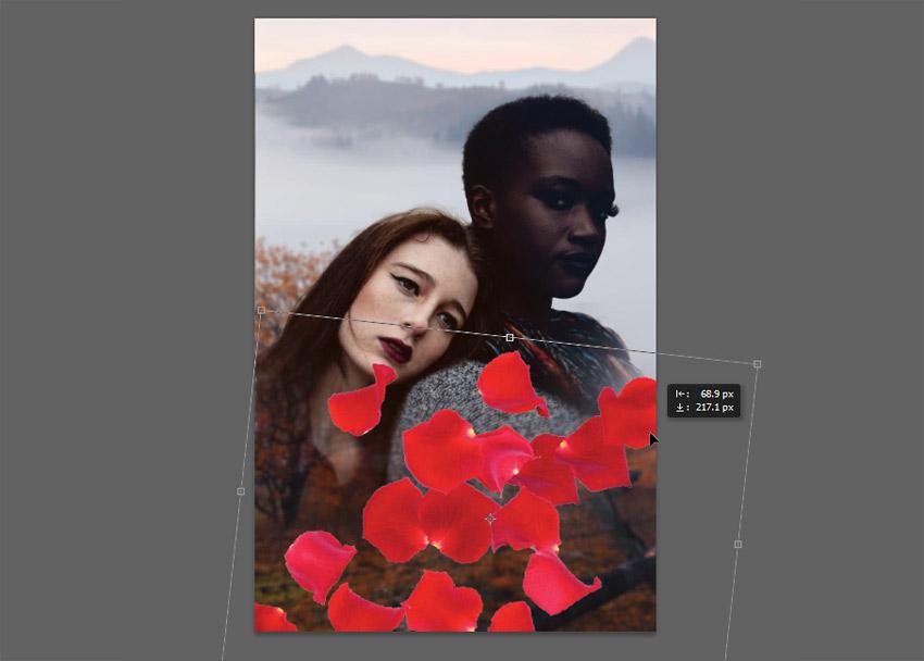 copy and paste petals