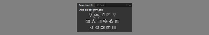 add levels adjustment