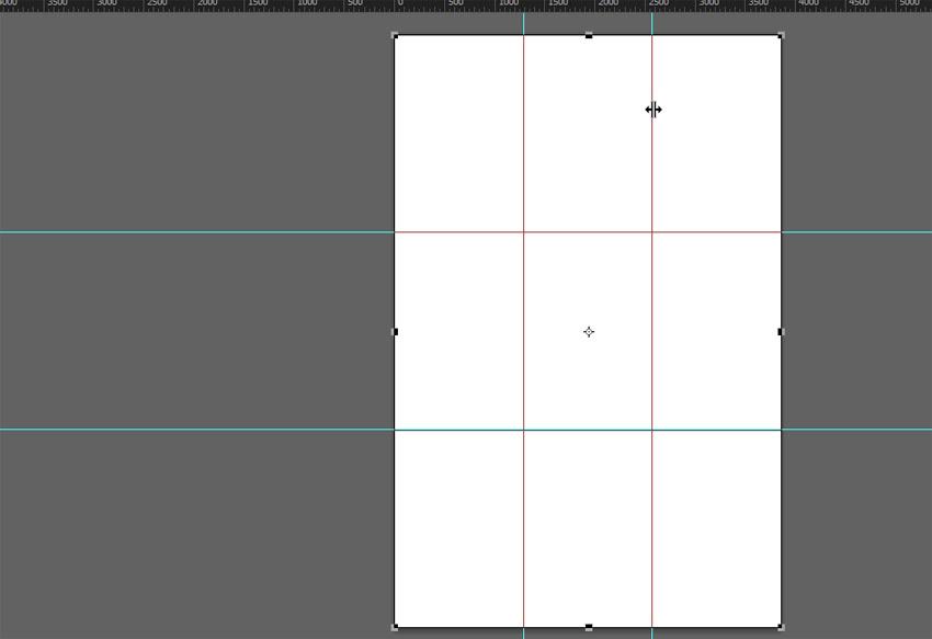 create rule of thirds grid