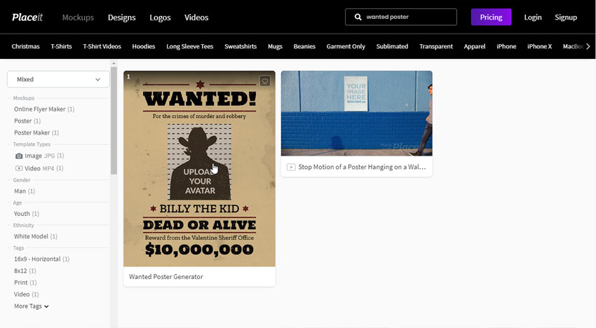 wanted poster maker