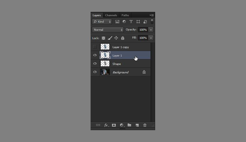 create layer duplicate