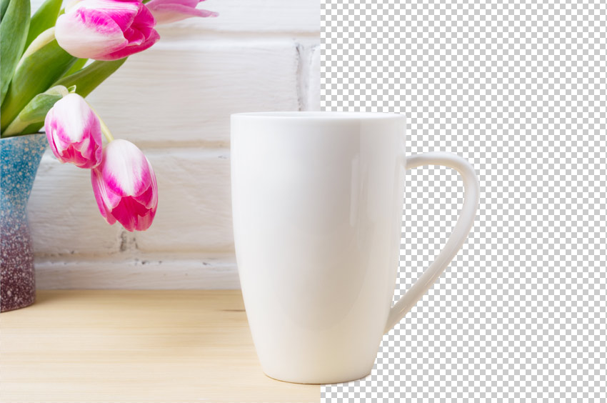 how to make background transparent in photoshop