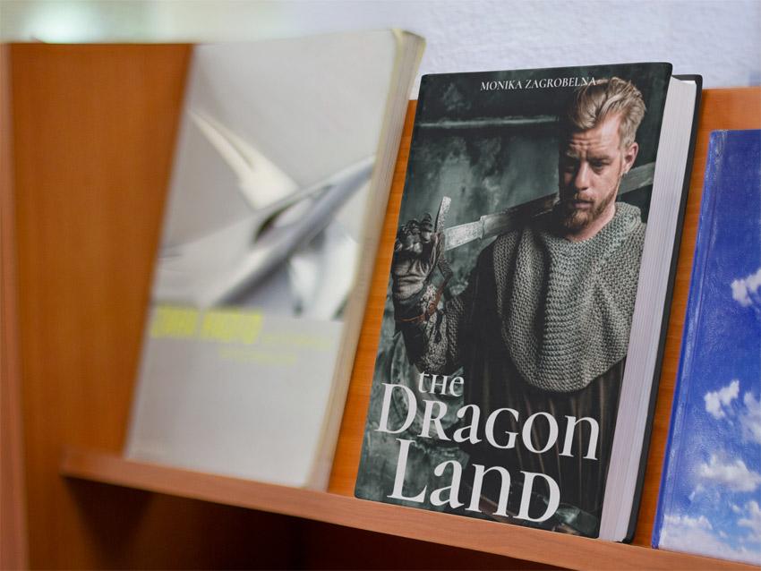 Book on a Bookshelf Mockup