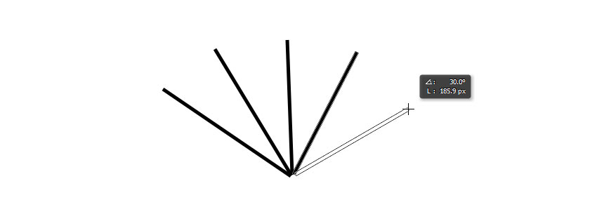 draw a straight line in photoshop with line tool