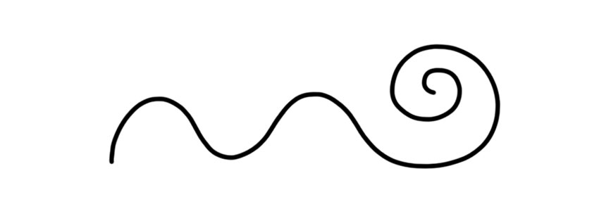 Bend Line in Photoshop
