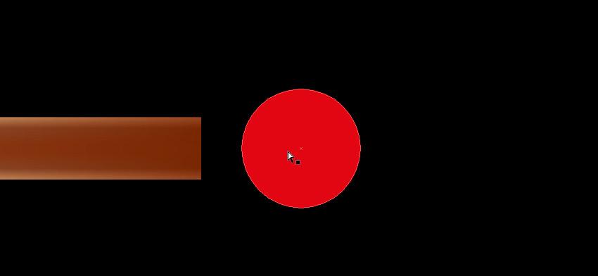 draw red circle