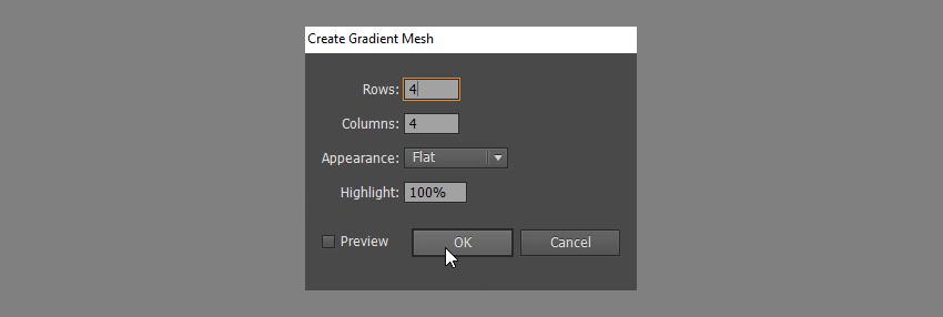 add gradient mesh