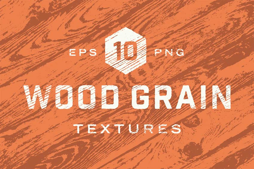 Vector Wood Grain Textures