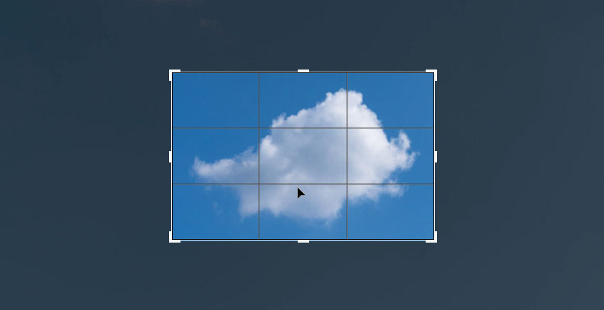 crop the cloud