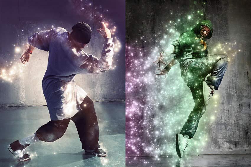 Image of sparkle brush photoshop promo 2
