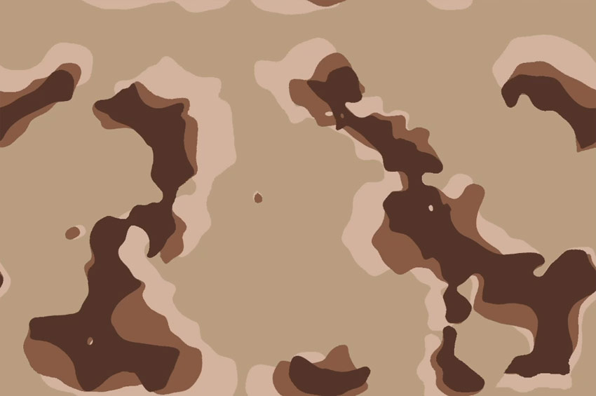 make the camo pattern tileable