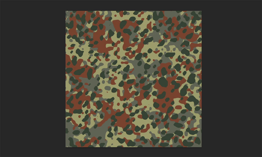 create seamless camo pattern