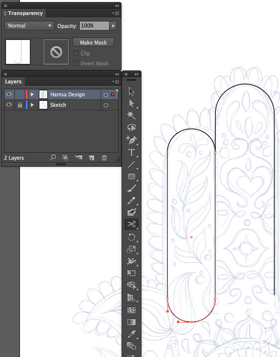 cut scissors anchor point segment vector rounded rectangle illustrator Hand of Mariam Fatima  Hand Khamsa Hamesh sketch illustration miss chatz artwork pen blue fish hand palm eye flower pattern heart design tshirt scan copy background mirror horizontal