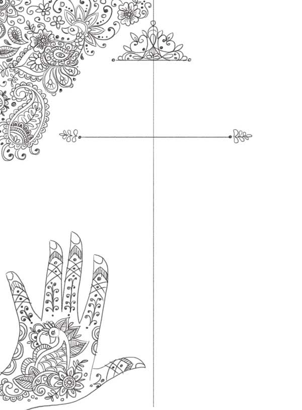 Create Henna Inspired Elements For A Festival Poster In