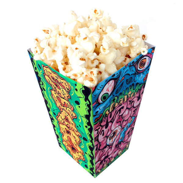 Create your own popcorn horror box in adobe illustrator final product image pronofoot35fo Image collections
