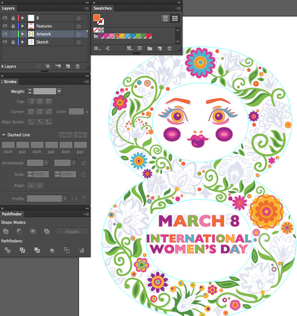 adobe illustrator offset path pucker bloat options expand appearance polygon tool