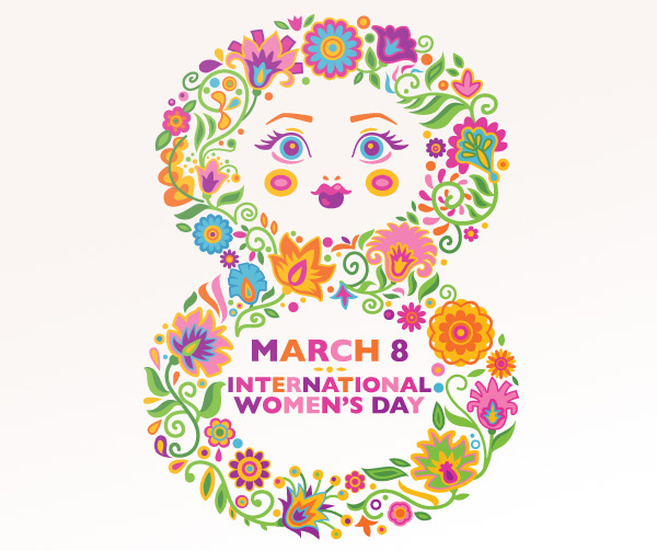 wall decal phot living room apply international womens day  march 8