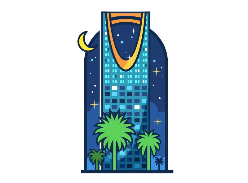 How to Create a Saudi City Landmark in Adobe Illustrator