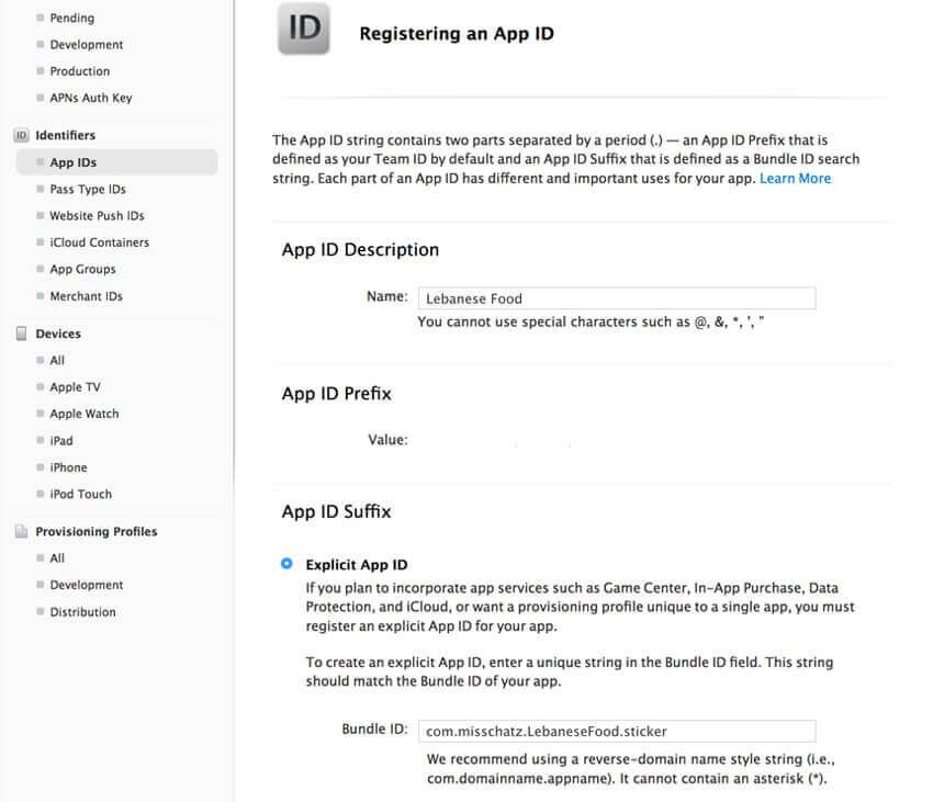 apple developer account app