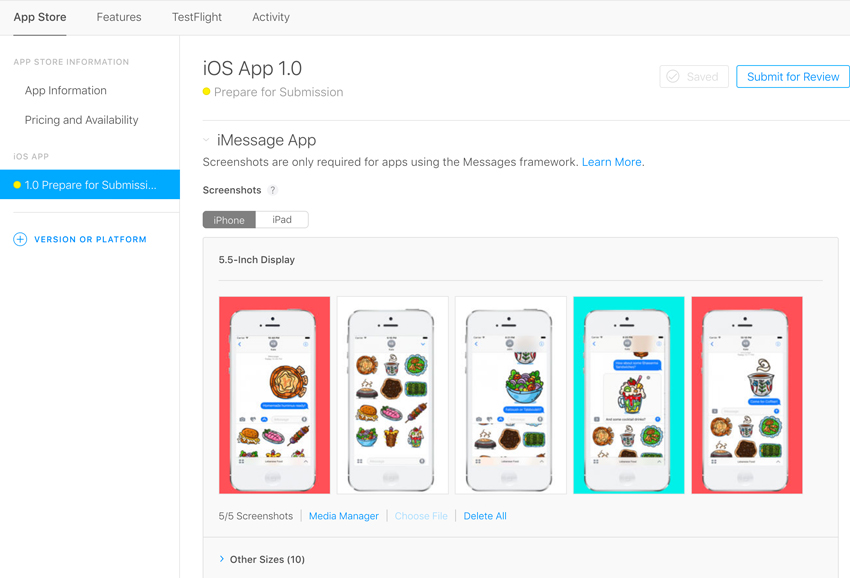 itunes imessage preview images app