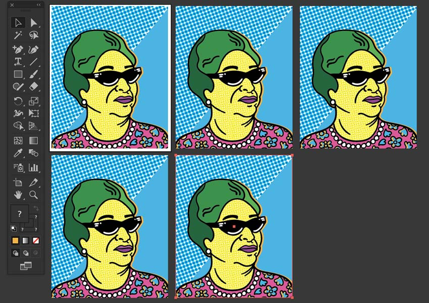 How to Create a Pop Art Tribute to Egyptian Icon Oum Kulthoum, in Adobe Illustrator