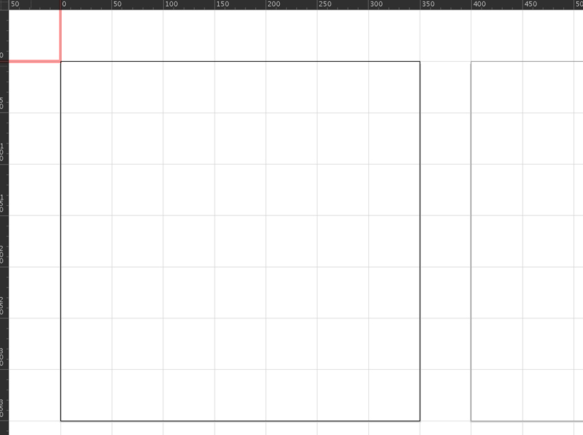 set rulers and snap to grid and artboard align with rulers