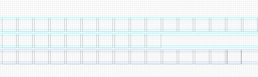 duplicate ruler guides hold down shift alt keys and drag