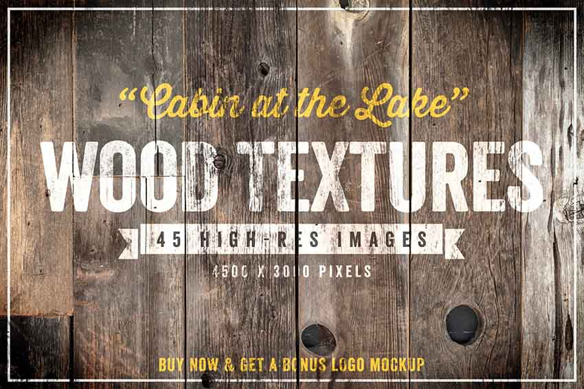 45 high res images wood textures