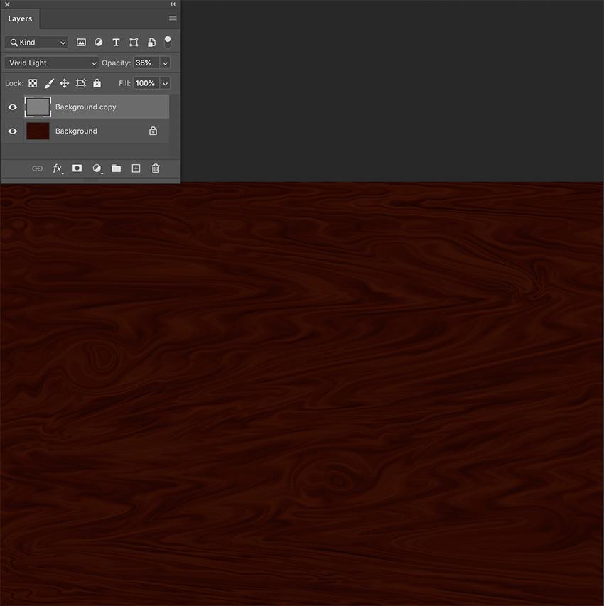 photoshop wood grain tutorial set blending mode to vivid light wood texture photoshop tutorial