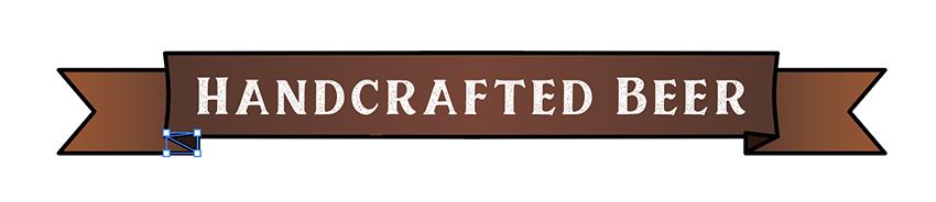 copy paste in front shortcuts reflect vertical banner detail beer label design
