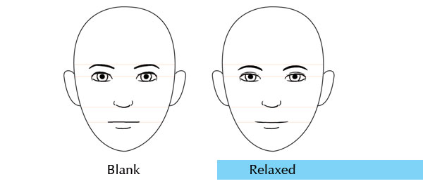 Human anatomy fundamentals mastering facial expressions the relaxed branch ccuart Image collections