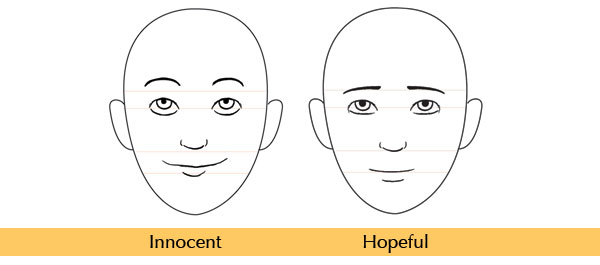 how to draw a laughing face