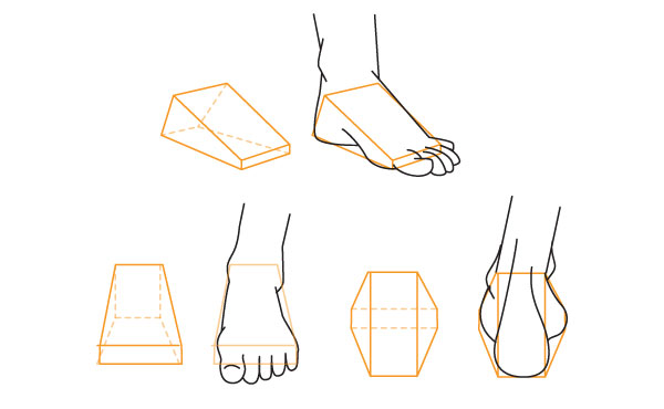 How To Draw A Foot