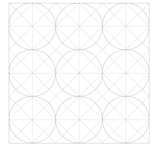 Five-Circle Grid ready