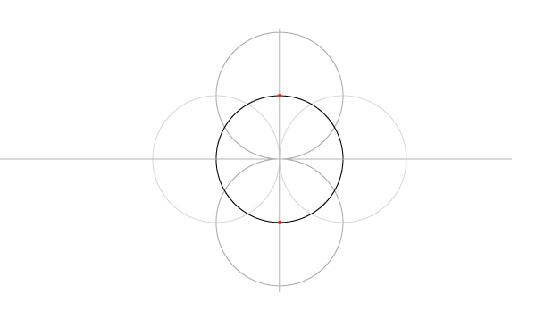 Five-Circle Grid step 4