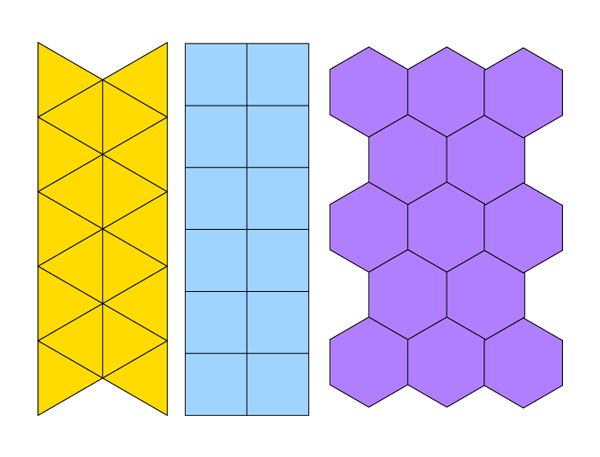 Tesselating shapes