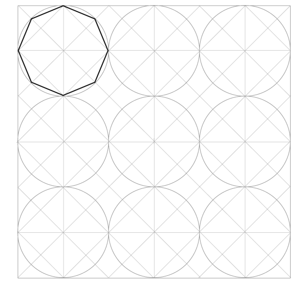 Tiled Dynamic Octagons