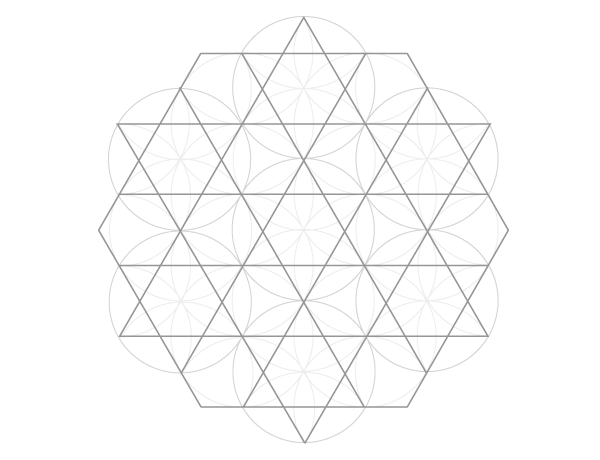 Dodecagram pattern starting point