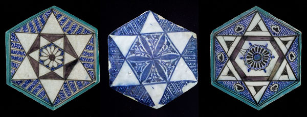 Tiles from Egypt or Syria