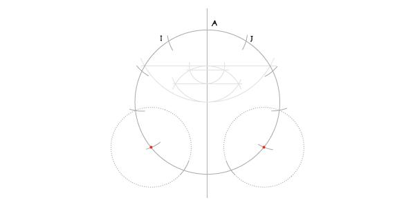 Hendecagon step 9c